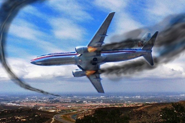 Что делать, если ваш самолет падает?