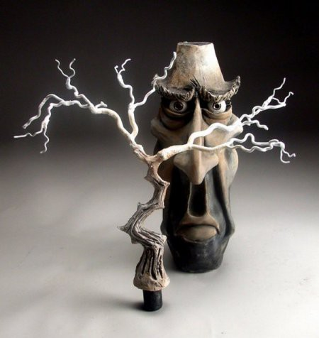Сумасшедшая керамика креатив, прикол, юмор