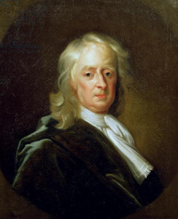 Енох Симен-младший. Исаак Ньютон, 1726