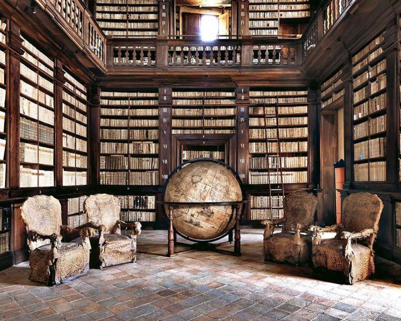 В поисках самых красивых библиотек мира.