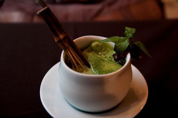 зеленый чай с молоком для очищения кишечника