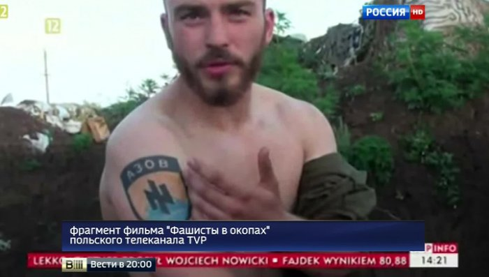 """Фашисты в окопах: нацистские высказывания бойцов """"Азова"""" потрясли Польшу"""