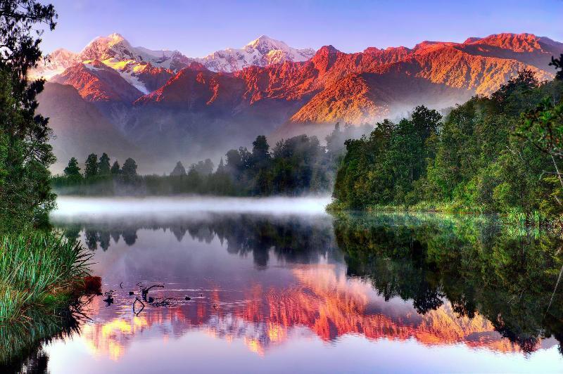 Южный остров Новой Зеландии – рай на земле