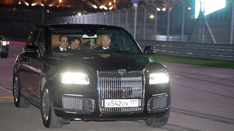 Путин прокатил Ас-Сиси на но…