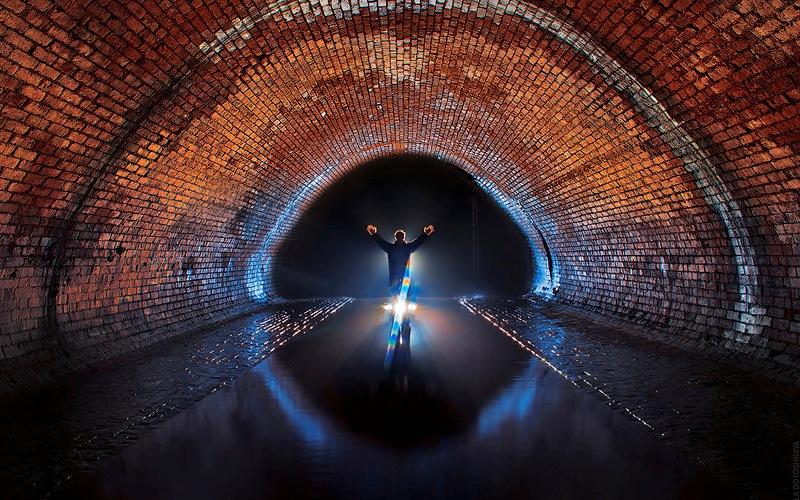 Подземная река под Москвой - Неглинка