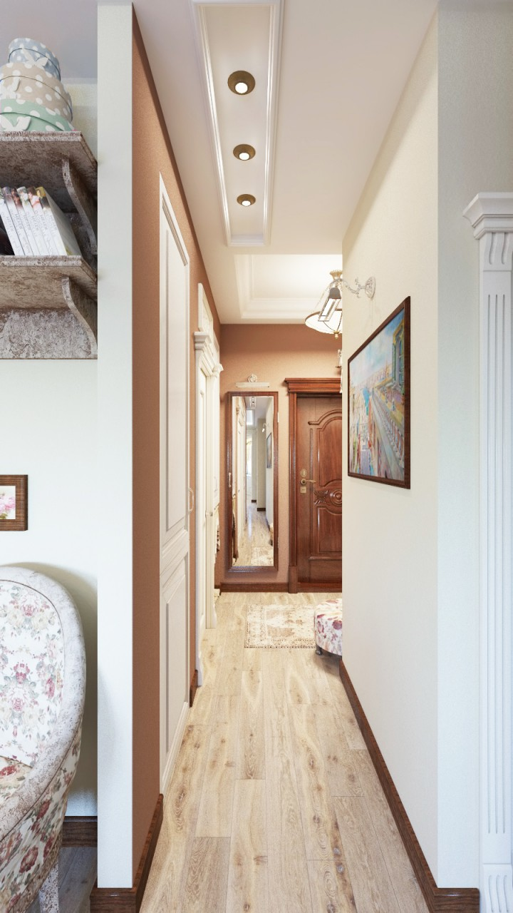 Фотография:  в стиле , Кантри, Классический, Квартира, Проект недели, Ирина Нани, Иван Тюрин – фото на InMyRoom.ru