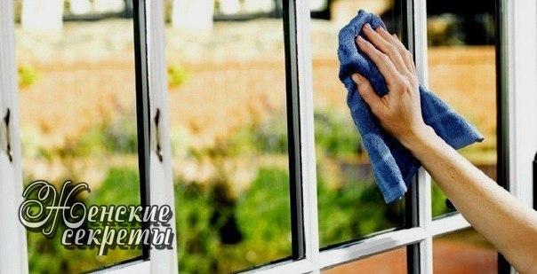 Самодельное средство для мытья окон (зеркал)