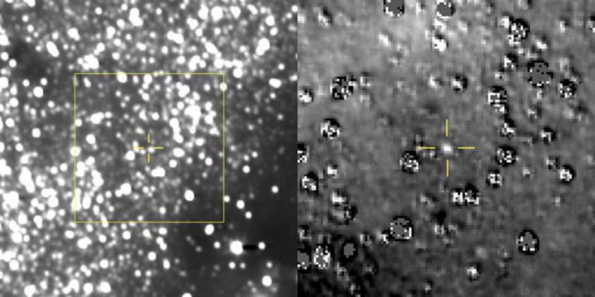 Зонд New Horizons прислал первый снимок из новой миссии