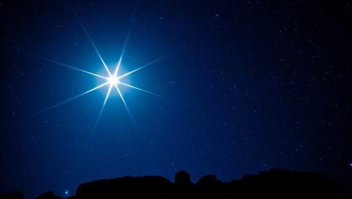 Сияющая звезда своими руками