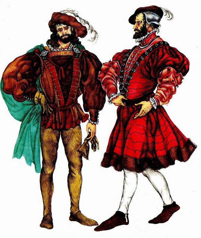 История моды. Костюм эпохи Возрождения. Франция