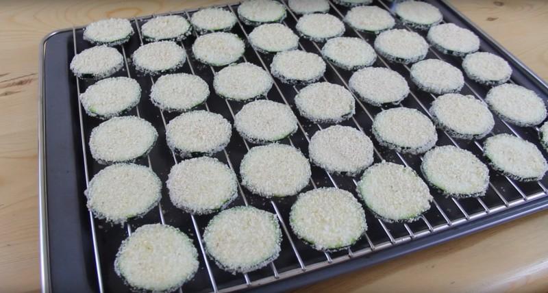 чипсы из кабачков