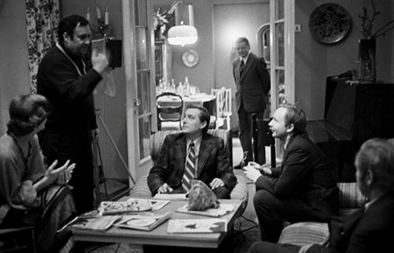 Фотографии со съёмочных площадок любимых комедий