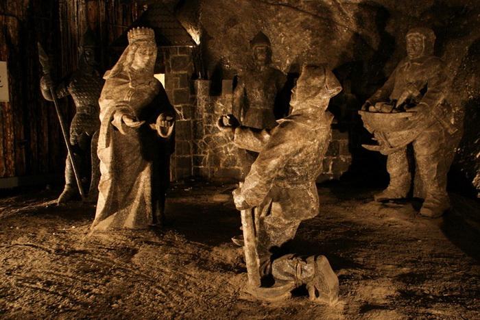 """""""Тайная вечеря"""" из соли и не только... Чудеса соляной пещеры Величка (Польша)"""