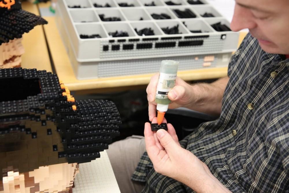 Создание скульптур из Lego