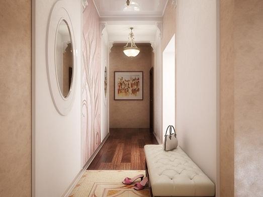 Интересные варианты дизайна коридора в квартире