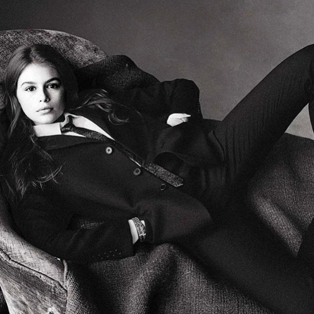 13-летняя дочка Синди Кроуфорд заключила первый модельный контракт