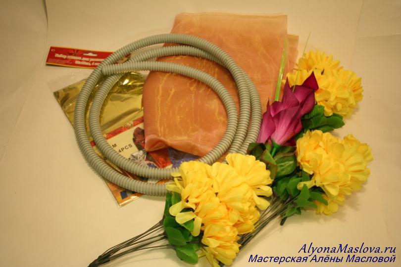 Как сделать своими руками свадебные украшение