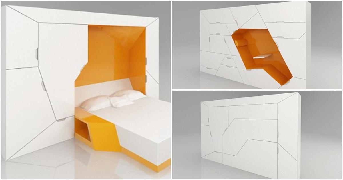 Невероятная функциональная и компактная мебель