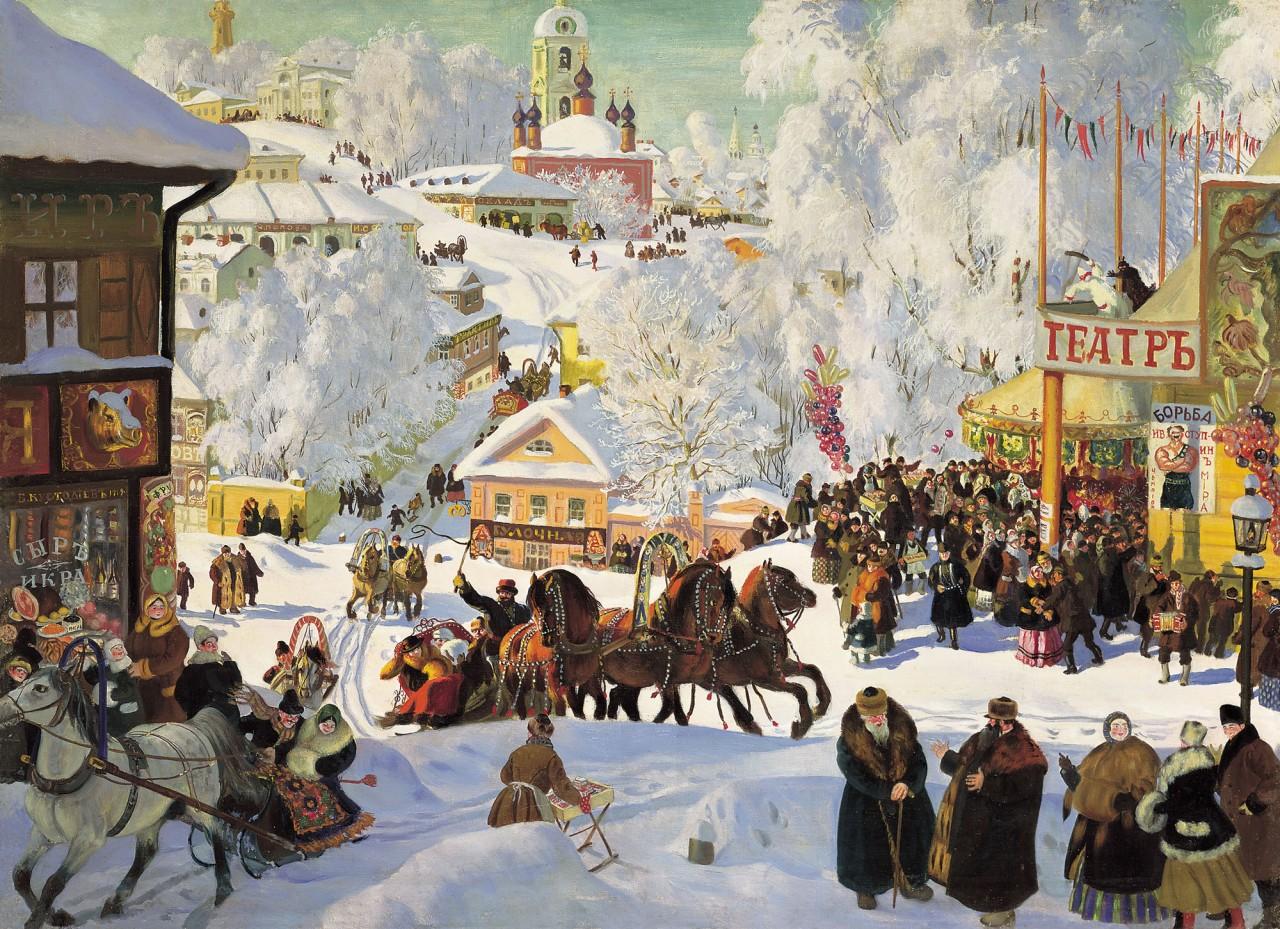 Древний праздник Масленица Original