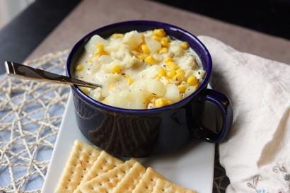 Рецепт. Рыбный суп из трески