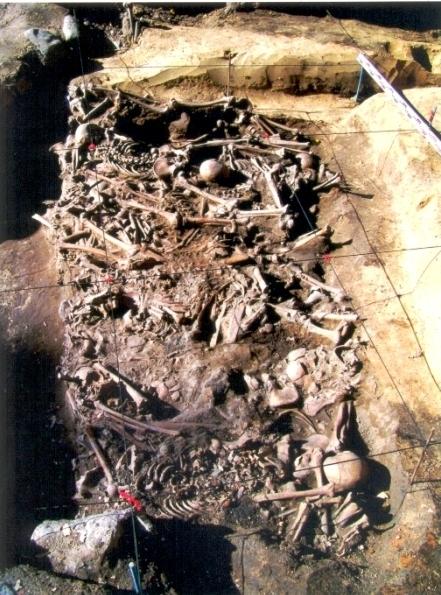 Санитарные захоронения времен татаро-монгольского нашествия