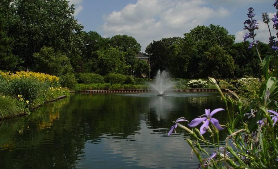 Cantigny Park - фотопрогулка среди цветов