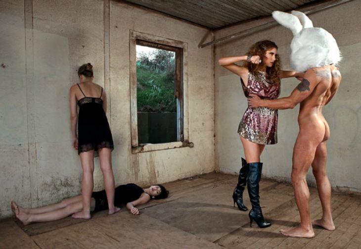 Креативные фотографии от Шона Дюфрена