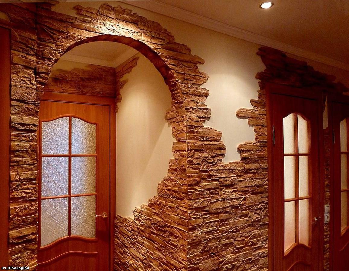 Внутренняя отделка декор камень