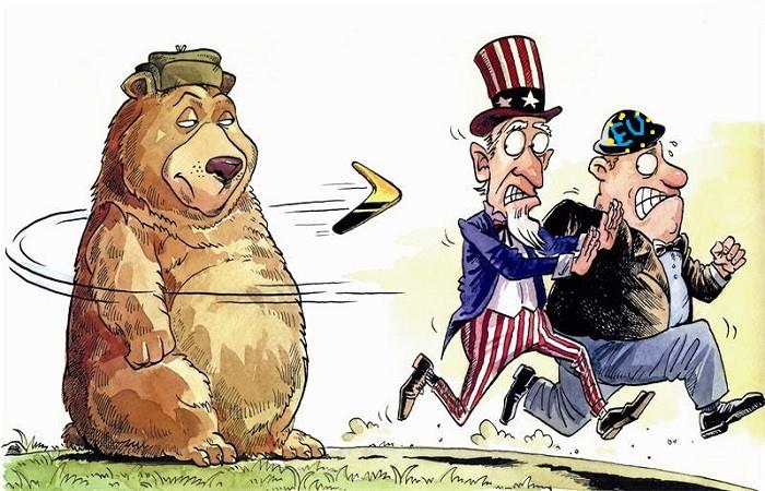 Запад в недоумении - санкции бесполезны