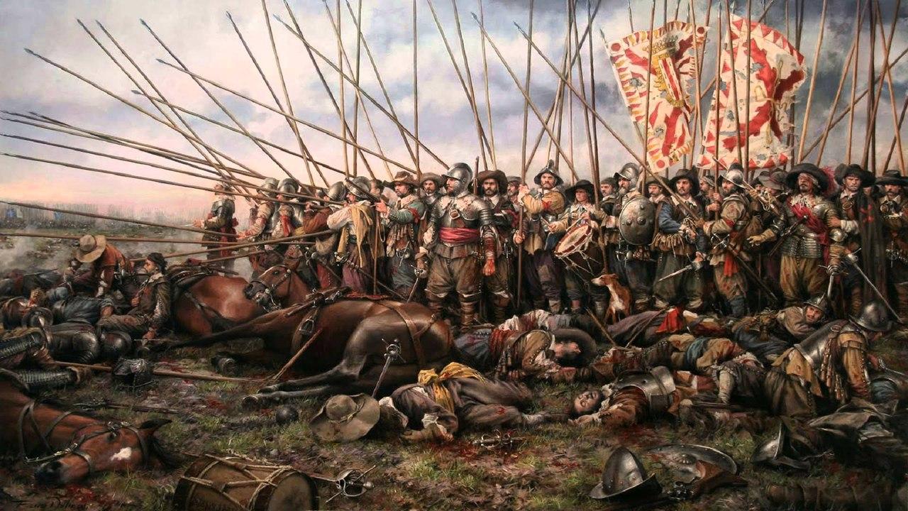 Тактика испанских терций