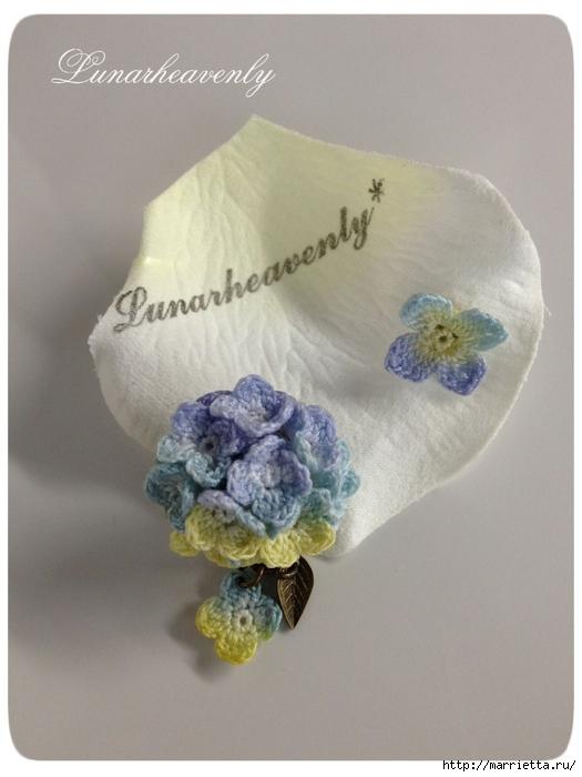Украшение и декор предметов цветочками крючком (27) (525x700, 198Kb)