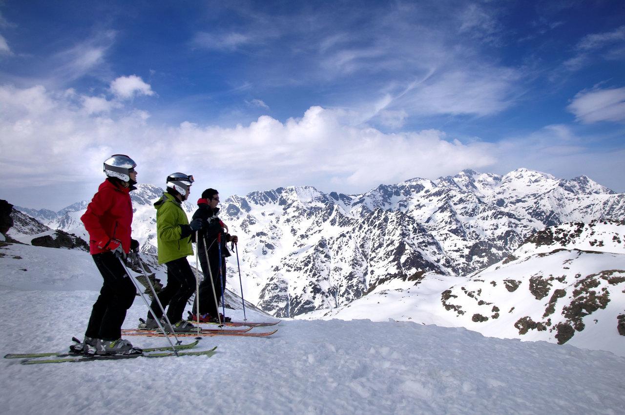 Горные лыжи новый год бюджетно