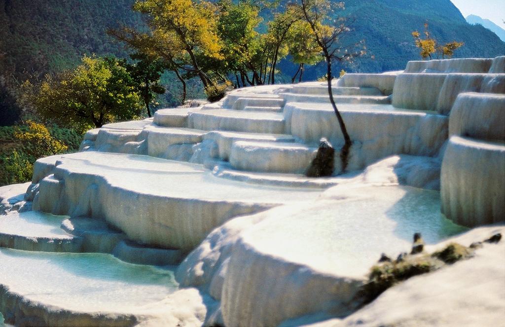 baishuitai08 Чудо китайской природы: Террасы белой воды