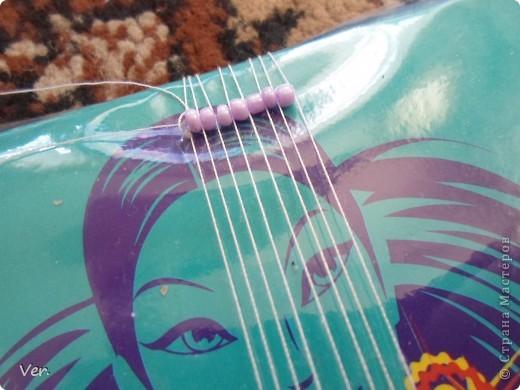 Гардероб, Мастер-класс Плетение: Фенечка из бисера:) Бисер.  Фото 8.