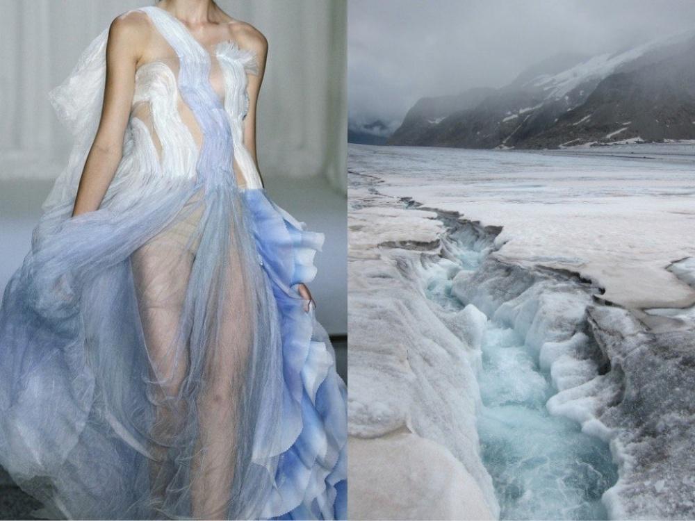 20 платьев, срисованных с природы