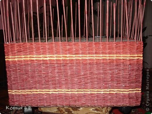 """Мастер-класс Плетение: Сундук на колесах в стиле """"минимализм"""" Бумага газетная Отдых. Фото 14"""