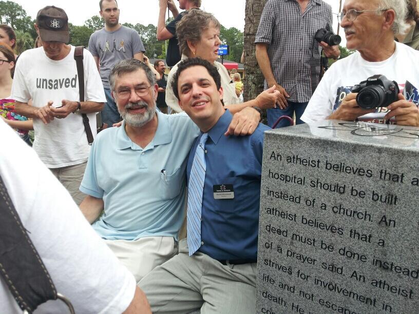 В США установлен первый памятник атеизму (фото)