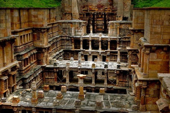 Колодец Рани-ки-вав (Rani Ki Vav)- индийское архитектурное чудо