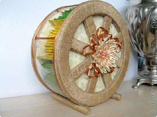 Чайное колесо - упаковка для чая