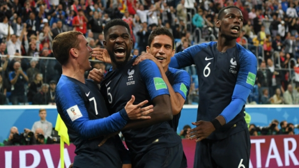 Франция стала чемпионом мира пофутболу
