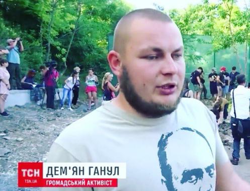 В Одессе арестованы майданщики-дебоширы Ганул и Стерненко