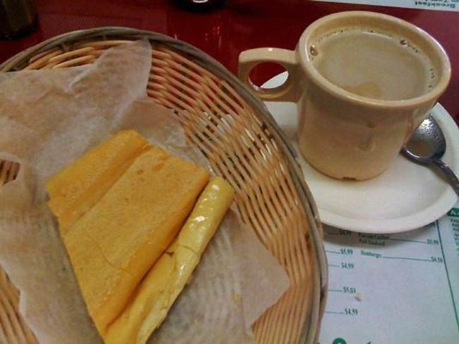 завтрак на Кубе