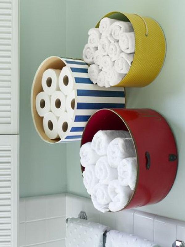 хранение туалетной бумаги