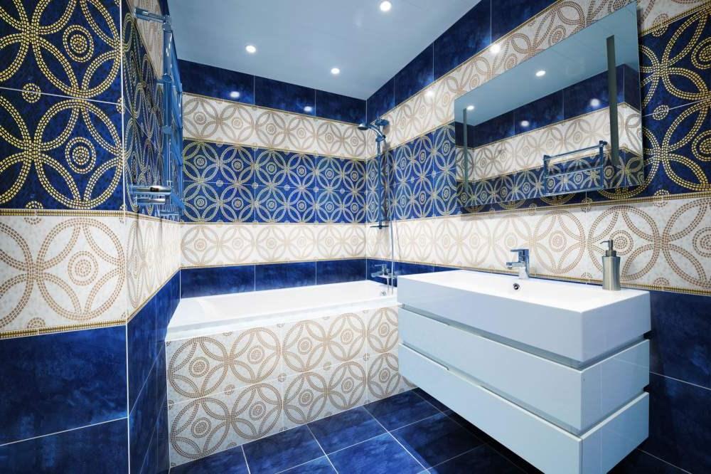 Красивая плитка в ванной фото