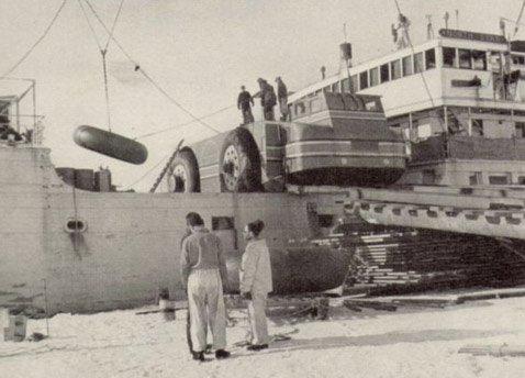 Сухопутный крейсер адмирала Бэрда