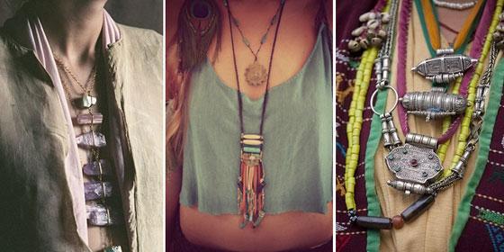 С чем носить украшения в этническом стиле