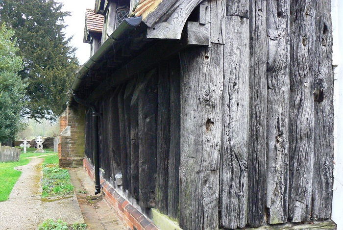 Гринстедская церковь является образцом традиционного саксонского способа строительства. | Фото: matveychev-oleg.livejournal.com.