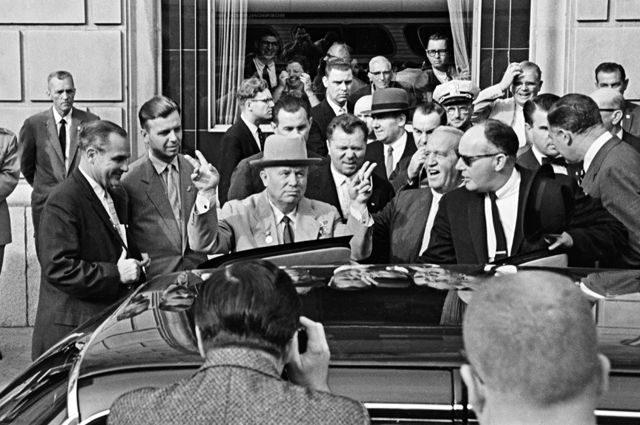 Советско-американские встречи на высшем уровне