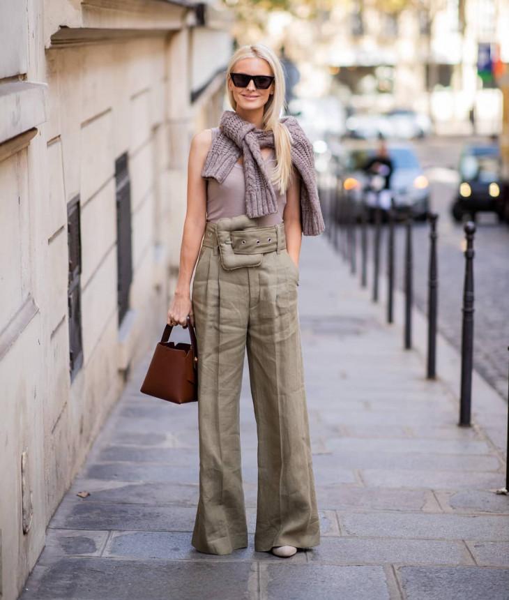 модные брюки - стритстайл
