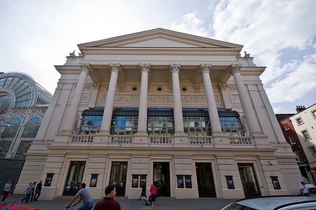 Королевский театр Ковент-Гарден, Англия.